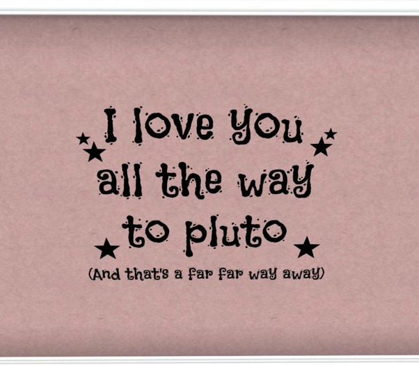 Second Life Marketplace Lil Jakiebear S Love All The Way To Pluto Wall Decal