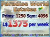 Paradise World Estates - L$ 1375 - 1250 prims - Land For Sale - Land Rentals - Land Store