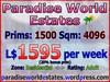Paradise World Estates - Residential Adult Land - Zania - Land for Sale - Land Rentals