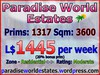 Paradise World Estates - Residential Land - Iridia - Land for Sale - Land Rentals