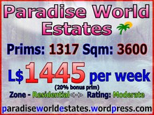 Paradise World Estates - Residential Land - Iridia - Land for Sale - Land Rentals