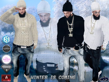 {RC} Winter is Coming Outfit Hud