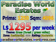 Paradise World Estates - Residential Land - Cretia - Land for Sale - Land rentals