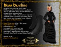 Miss Caroline in Niteshade Black