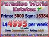 Paradise World Estates - Commercial Adult Land - Urania
