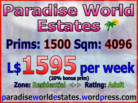Paradise World Estates - Residential Land For Sale - Tristia - Land Rentals