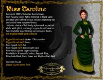 Miss Caroline in Paris Green