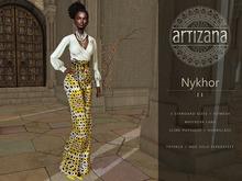 Artizana - Nykhor II - Mesh Blouse + Pants