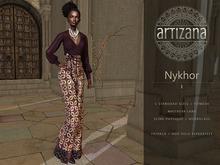 Artizana - Nykhor I - Mesh Blouse + Pants