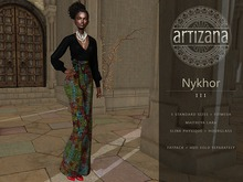 Artizana - Nykhor III - Mesh Blouse + Pants