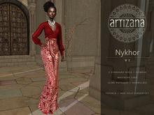 Artizana - Nykhor VI - Mesh Blouse + Pants
