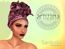 Artizana - Sankolo (Blush) - African Headwrap