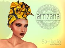 Artizana - Sankolo (Mango) - African Headwrap