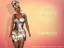 Artizana - Sankolo (Cocoafly) - Mesh Dress + Headwrap