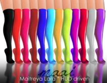 MAAI Fancy stockings * latex * HUD * Maitreya Lara