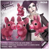 ~silentsparrow~ Puppers! Rose Mesh Puppy Dog Friends