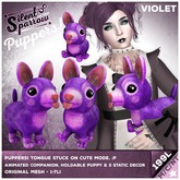 ~silentsparrow~ Puppers! Violet Mesh Puppy Dog Friends