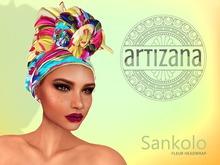 Artizana - Sankolo (Fleur) - African Headwrap