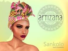 Artizana - Sankolo (Kente) - African Headwrap