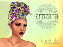 Artizana - Sankolo (Magentreuse) - African Headwrap