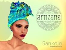 Artizana - Sankolo (Pacifica) - African Headwrap
