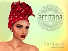 Artizana - Sankolo (Sangria) - African Headwrap