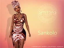 Artizana - Sankolo (Sorbus) - Mesh Dress + Headwrap