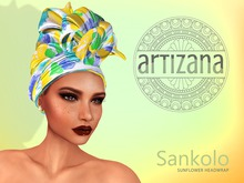 Artizana - Sankolo (Sunflower) - African Headwrap