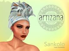 Artizana - Sankolo (Tiara) - African Headwrap