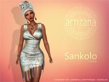 Artizana - Sankolo (Tiara) - Mesh Dress + Headwrap