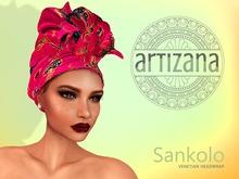 Artizana - Sankolo (Venetian) - African Headwrap