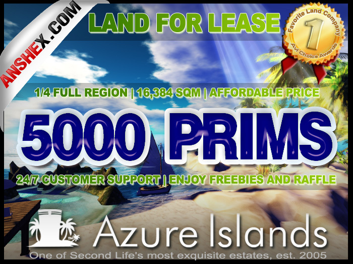 1/4th ADULT DELUXE ISLANDS 5000 PRIMS