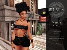 Artizana - Marcia (Night) - Tube Top + Shorts + Headwrap