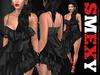 ::Smexy:: Flamenco Dress BLACK