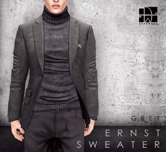 [Deadwool] Ernst sweater - grey