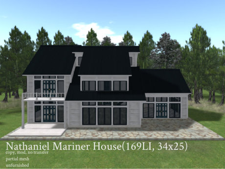 Nathaniel Mariner House(169LI, 34x25)