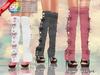 ::MA:: HOPE Heels with Knee Sock Leg Warmers, Maitreya, Belleza, Slink - 50 COLORS PACK
