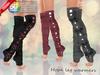 ::MA:: HOPE Knee Sock Leg Warmers - 50 COLOR PACK