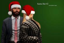 [C a r o X]  Santa Hat Mesh Nikolaus Mütze