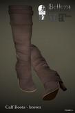 PRECAST Inc. - Calf Boots - brown