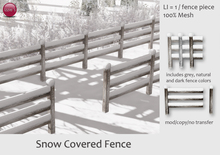 Izzie's - Snow Covered Fence