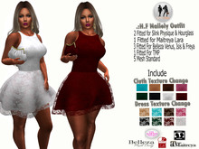 .:H.F Nallely Lace Dress (HUD TEXTURE CHANGE)