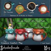 Schadenfreude (copy) Fox Creature Comfort Mug