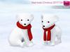 Mkt xmas polar baby bear