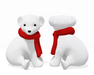 Mkt xmas polar baby bear 3