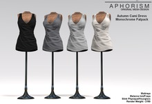 !APHORISM! Autumn Cami Dress ~ Monochrome Fatpack