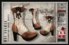 HOLIDAY SALE PIXEL BOX - Steampunk Mrs Brawer Short Boots Fitted TONIC, EVE, BELLEZA, SLINK, MAITREYA, #TMP, eBODY