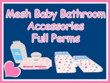 Baby Bathroom Accessories Full Permissions MESH