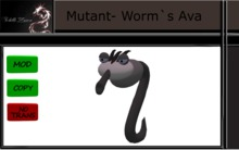 Mutant Worm`s Outfit