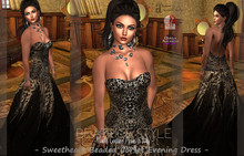"""""""BeatriceStyle"""" - Sweetheart Beaded Corset Evening Dress"""